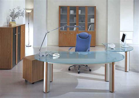 Modern Contemporary Home Office Desk Modern Executive Table Design For Your Work Area Designwalls