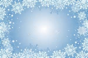 Winter wonderland blue christmas card background with snowflakes