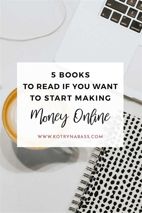 Books On Making Money Online - 5 best books to read on how to make money online
