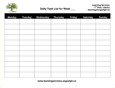 task template task sheet template awesome 6 daily task list template
