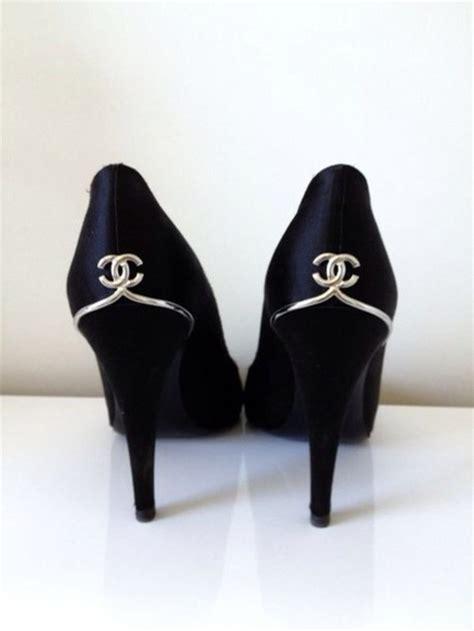 chanel high heels shoes chanel high heels black black high heels chanel