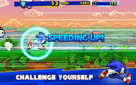 sonic apk sonic runners apk v1 1 3 mod money it android