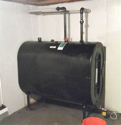 how to remove tank from basement leaking basement tank