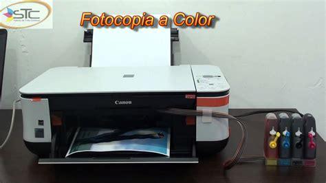 reset para impresora canon mp280 gratis impresora canon pixma mp250 con sistema de tinta continua