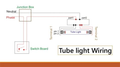 stair wiring and tubelight wiring