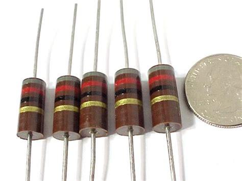 allen bradley resistors 82 ohm 2 watt allen bradley ab carbon resistors resistors electrical parts