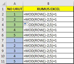 rumus membuat link di html 6 rumus excel untuk membuat nomor urut penomoran otomatis