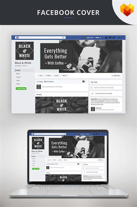 facebook cover template  coffee shop social media