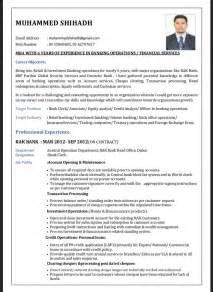 best resume format for bank clerk resumes design