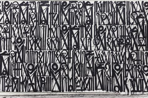 wallpaper grafiti hitam putih gambar abstrak resolusi tinggi gambar 06