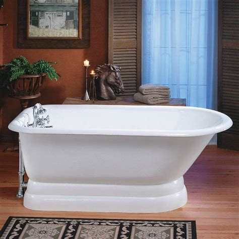 cheviot 211 traditional cast iron bathtub with pedestal