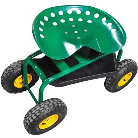 Gardening Rolling Seat Rolling Garden Seat Rolling Seat Tractor Seat On Wheels