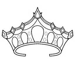 tiara coloring getcoloringpages