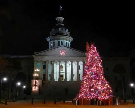 sc state house christmas tree