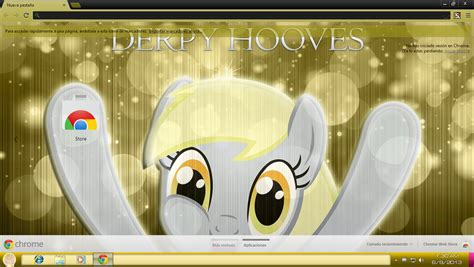 themes for google chrome 1366x768 03 derpy hooves theme for chrome 1366x768 by