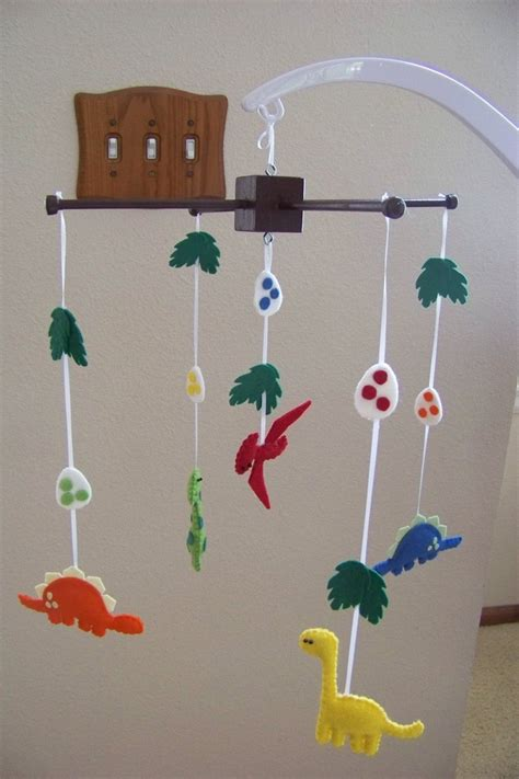 Dinosaur Crib Mobile by Baby Mobile Baby Crib Mobile Dinosaur Mobile Nursery