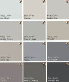Color showcase gray design paint swatches paint behr gray grey