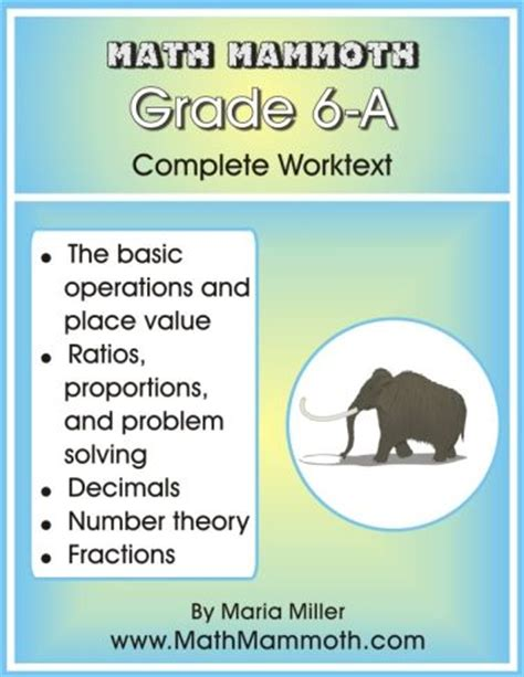 math mammoth grade 4 b worktext books math mammoth algebra 1 worksheets collection prentice