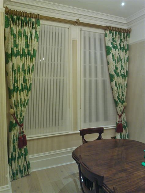 Dining Room Drapes And Curtains Large Print Dining Room K K Curtains