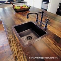 How To Build A Wood Bar Top Counter 25 Best Ideas About Wood Countertops On Wood
