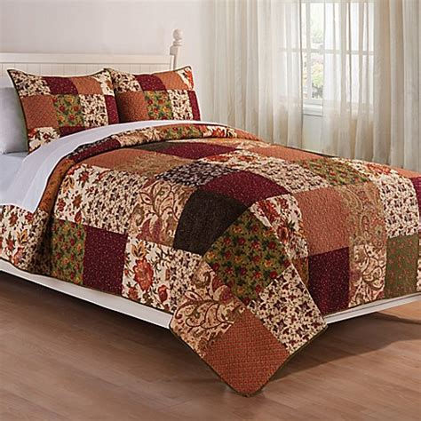 bed bath beyond okc buy rustic lodge reversible king quilt set from bed bath