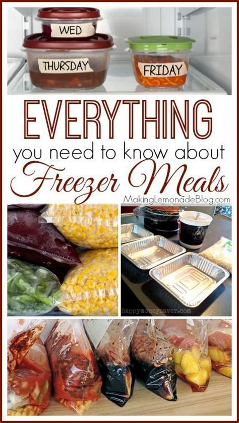 freeze your meals the freezer cookbook busy need books 60 best images about healthy freezer meals on