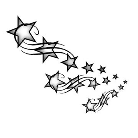 shooting stars by likklemstwinkle on deviantart clipart