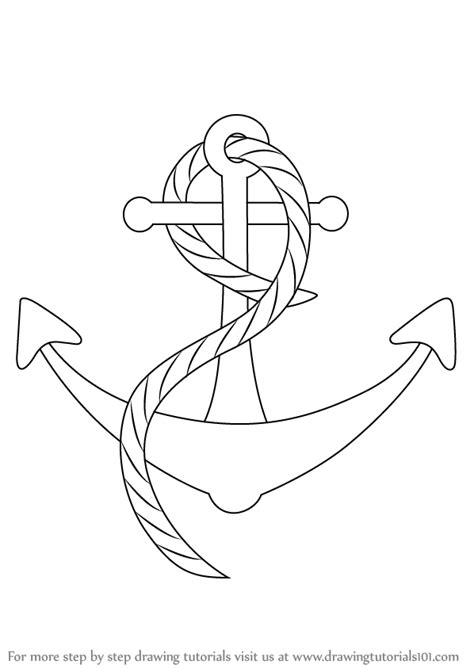 boat drawing cute learn how to draw a boat anchor boats and ships step by