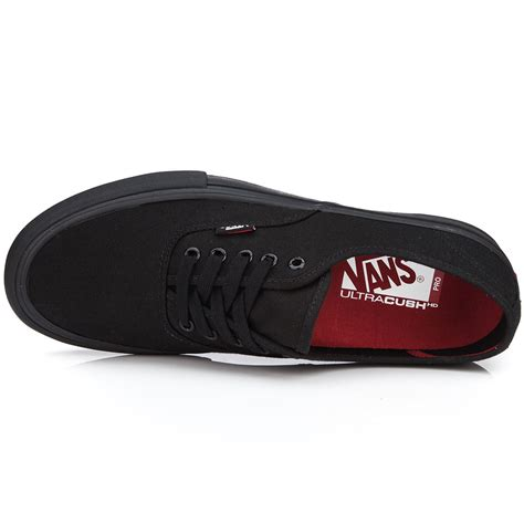 Sepatu Vans Authentic Black White Insole Black vans authentic pro shoes black black 10