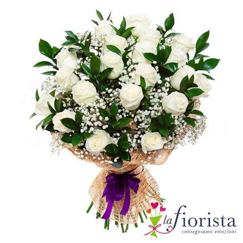 mazzo di fiori bianchi vendita mazzo funebre di bianche e verde consegna