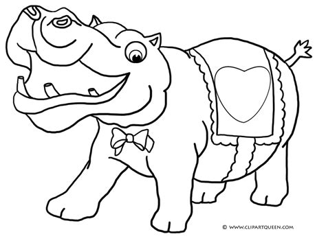 happy hippo coloring page 11 valentine s day coloring pages