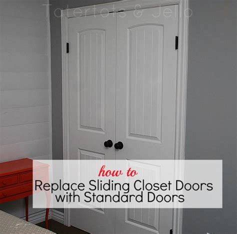 Standard Closet Door Make The Most Of Your Closet Replace Sliding Closet Doors With Standard Doors