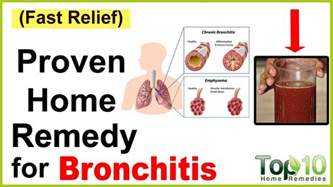 a home remedy for bronchitis