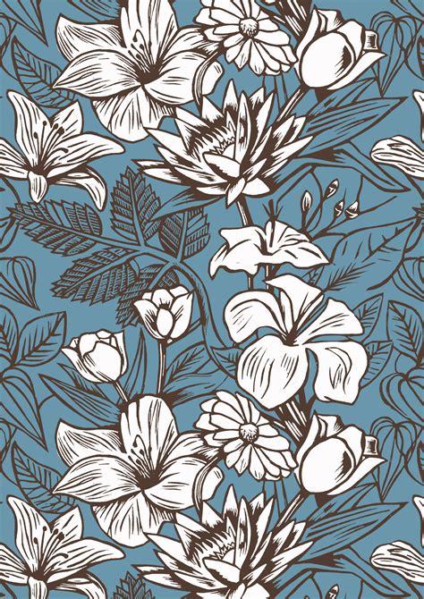 pattern of a flower subtle flower patterns www imgkid com the image kid