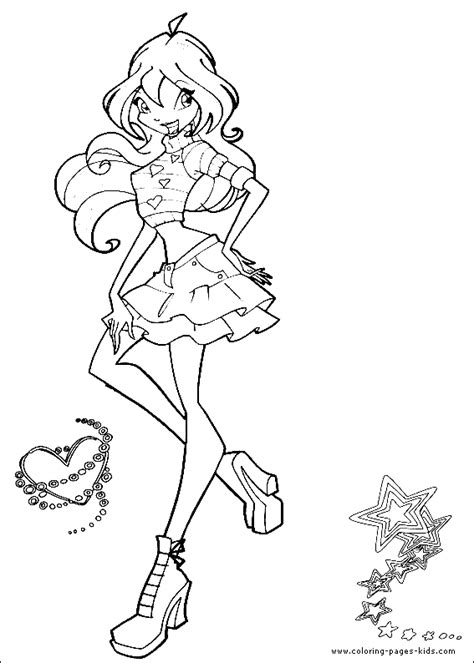 Winx Printables High Quality Wallpapers Hdfree Coloring High Quality Coloring Pages