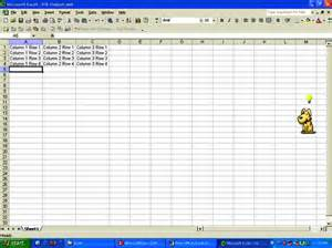 convert an xml file into an excel spreadsheet with this