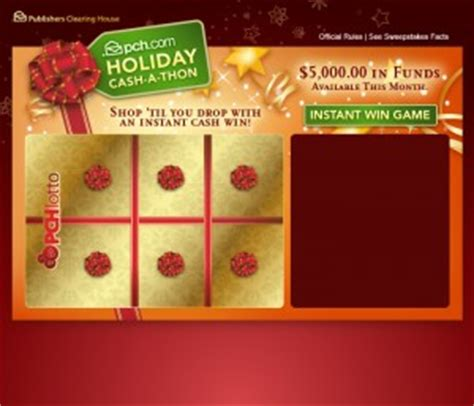 Sweepstakes Clearinghouse Credit Vouchers - turn to pch for all your black friday needs pch blog