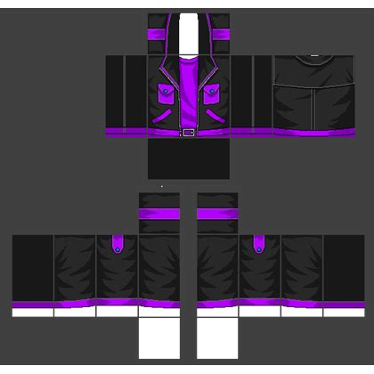 jacket template purple 1 roblox