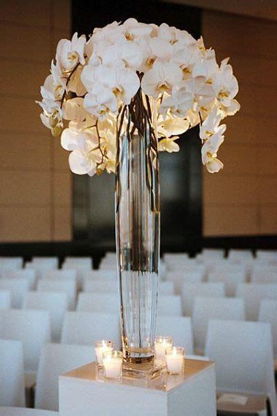 decorative vase vases flower vase flowers orchid white fabolous tall glass centerpiece flower arrangement 5