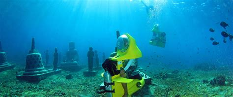 bali tropico tour and travel bali underwater scooter - Water Scooter Bali