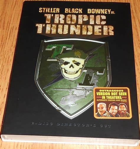 Tropic Thunder Dvd 2008 2 Disc Set Director S Cut The Enchanted Cottage Dvd