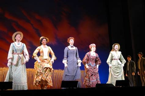 little house on the prairie musical photo coverage little house on the prairie the musical opens at papermill playhouse