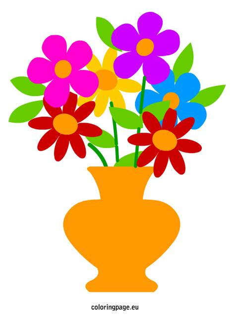 Flowers In A Vase Clipart by Flower In Vase Clipart Clipartxtras