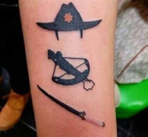 daryl dixon tattoo daryl dixon