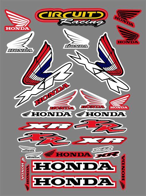 Honda Aufkleber by Honda Xr Sticker Kit