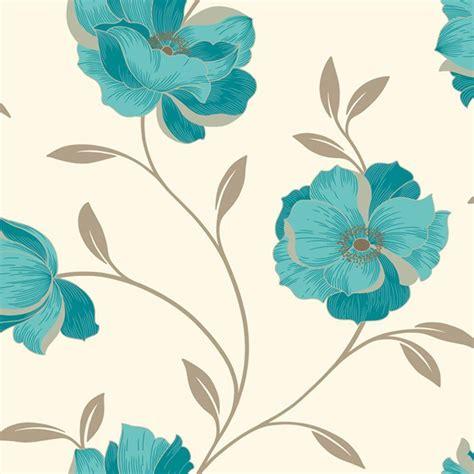 wallpaper teal flower teal wallpapers wallpaper cave