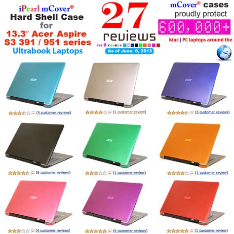 Garskin Cover Laptop 10 Inc clear mcover 174 shell for new 13 quot acer aspire s3