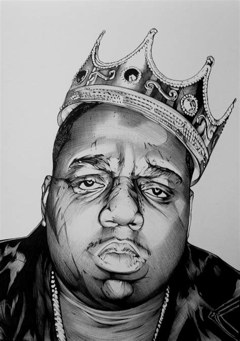 Drawing Big notorious big by youbesonicimtails on deviantart