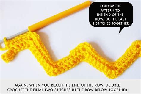 zig zag pattern in crocheting tutorial zali zig zag chevron crochet pattern meet