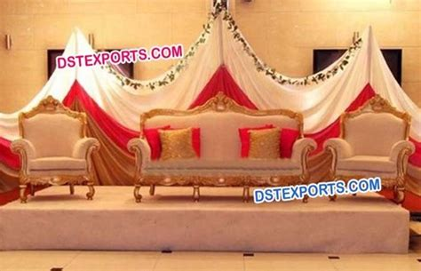 wedding stage sofa indian wedding stage gold sofa set indian wedding stage